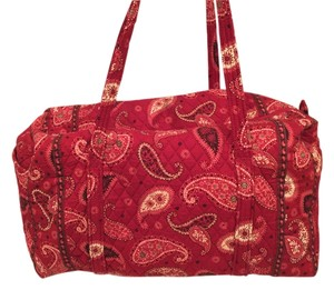 Vera Bradley Mesa red Travel Bag