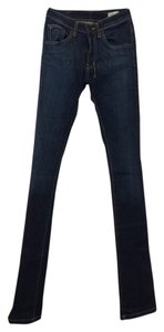 18th Amendment Skinny High Waist Dark Skinny Jeans-Dark Rinse