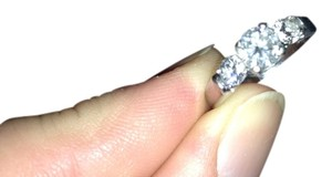 Gordon's and Zales Wedding and engagement ring set