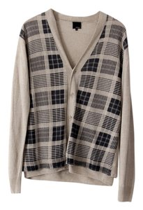 3.1 Phillip Lim Plaid Checker Linen Cardigan