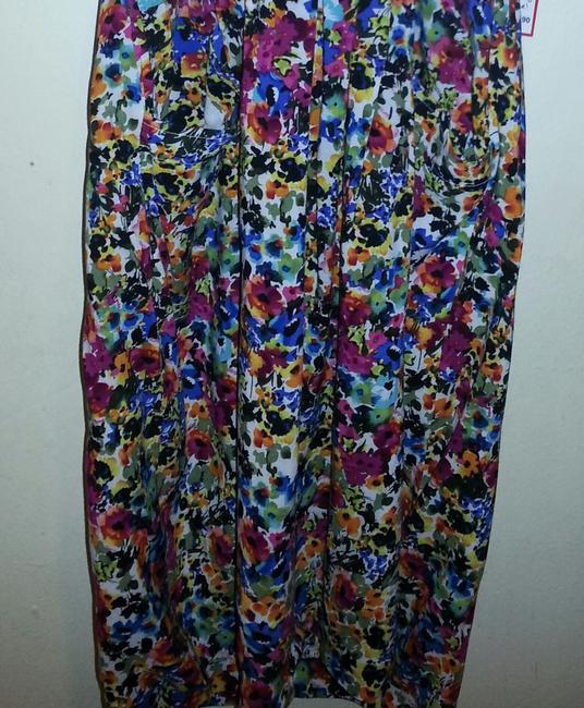 UK Style by French Connection short dress Floral Strapless Sweetheart Neckline on Tradesy