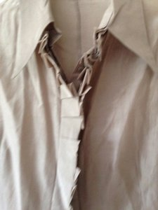 Miu Miu Button Down Shirt Beige