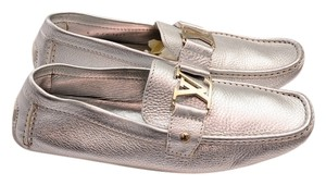 Louis Vuitton silver Flats