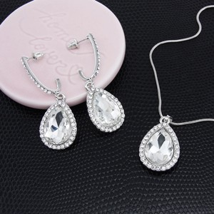 Bridal Austrian Crystal Necklace Set