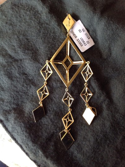 Eddie Borgo Eddie Borgo Gold Plated Dangling Earrings --Limited Edition