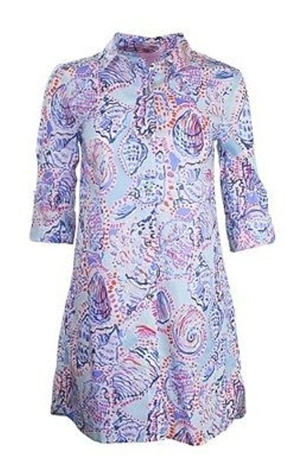 4408415be39 Lilly Pulitzer short dress Multi-Color Jupiter Island Tunic In Shell Me  About It on ...