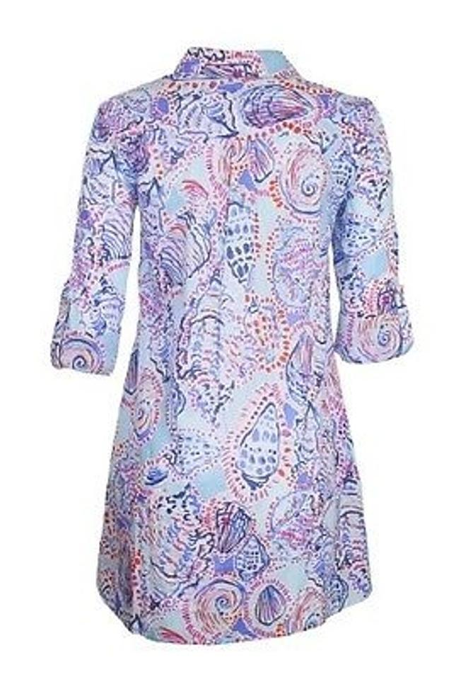 462d0be1ade Lilly Pulitzer Jupiter Island Cover-up Tunic In Shell Me About It ...