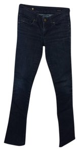 J & Co Jeans Straight Leg Jeans-Dark Rinse