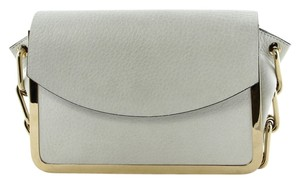 Reed Krakoff Gold and Off White Clutch