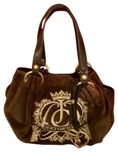 Juicy Couture Satchel in Chocolate Brown