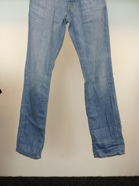 Rich & Skinny Straight Leg Jeans-Light Wash