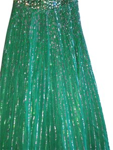 Green Maxi Dress by Sherri Hill