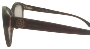 Chanel Chanel 3255 501 RX Eyeglasses Gloss Black EyeFrame NWC AUTH 52MM Camellia