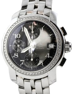 Baume & Mercier Baume and Mercier Capeland Diamond Bezel Chronograph Watch
