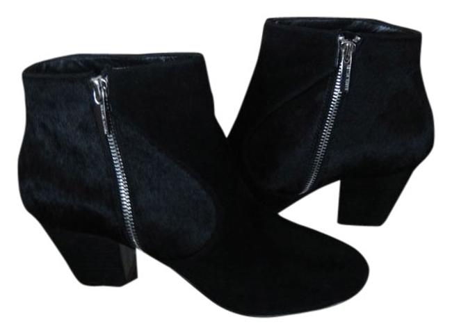 Item - Black Suede Ankle Boots/Booties Size US 8.5 Regular (M, B)