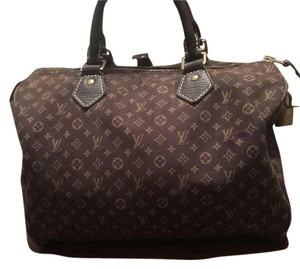 Louis Vuitton Canvas Monogram Tote in Brown