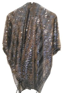 Cejon New black sequin wrap with sleeves