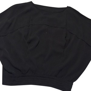 Diane von Furstenberg Silk Top Black