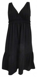 Ann Taylor LOFT short dress Black on Tradesy