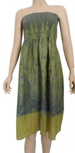 Preload https://item5.tradesy.com/images/lapis-green-one-shimmering-and-blue-strapless-tube-stretch-knee-length-cocktail-dress-size-os-one-si-138679-0-0.jpg?width=400&height=650