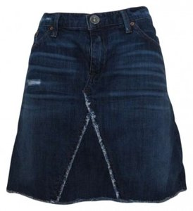 Banana Republic Mini Skirt Blue