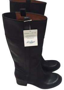Lucky Brand Leather Pullover black Boots