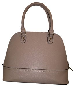 Forever 21 Satchel in Beige/Tan/Taupe