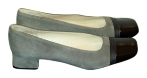 Salvatore Ferragamo Grey and black Pumps