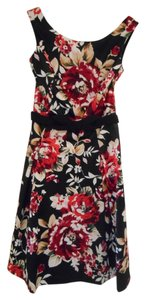 White House | Black Market Floral A-line Dress