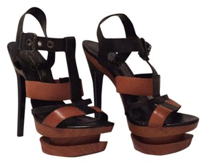 Jessica Simpson Black, Brown Platforms