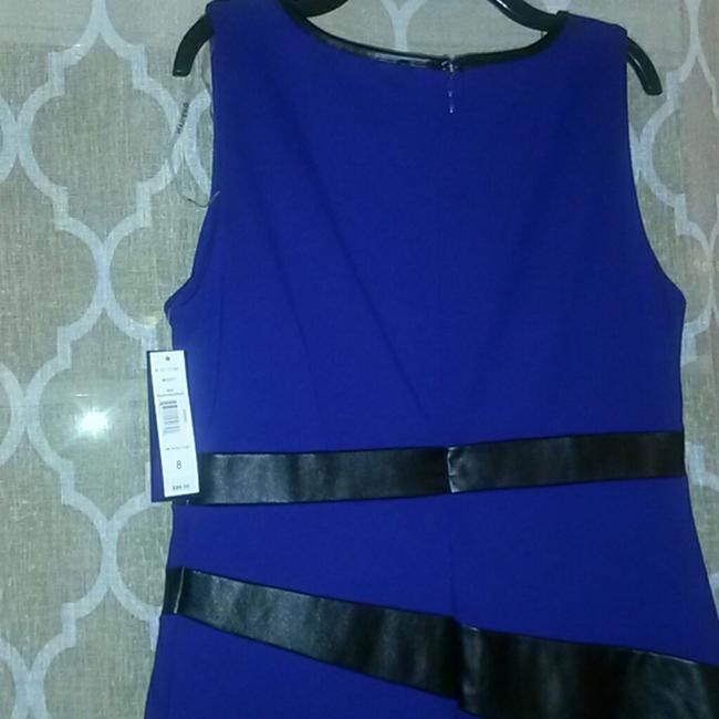 Peter Nygard Pencil Faux Leather Comfortable Dress