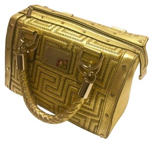 Versace Tote in Gold