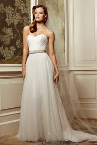 Wtoo Ivory Soft Netting Cristiana #13607 Destination Wedding Dress Size 16 (XL, Plus 0x)