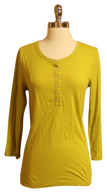 Preload https://item4.tradesy.com/images/jcrew-green-chartreuse-tee-shirt-size-8-m-1386998-0-0.jpg?width=400&height=650