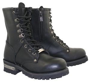 Xelement Motorcycle Biker Black Boots
