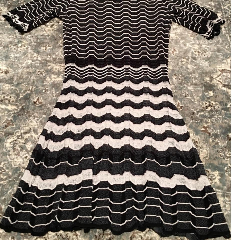d050e3a680933 Missoni Black and White Short Casual Dress Size 2 (XS) - Tradesy