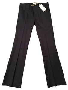 Bershka Trouser Pants Navy Blue