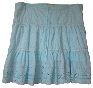 Juicy Couture Eyelet Eyelit Summer Spring Beach Boho Blue Turqoise Aqua Robin Bcbg Bebe Arden B Free People Pool Cover Up Vitamin A Skirt