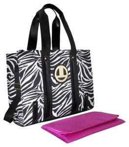 Liz Lange Maternity for Target Zebra Diaper Bag