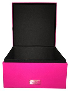 Prada Prada Hot Pink Jewelry Box