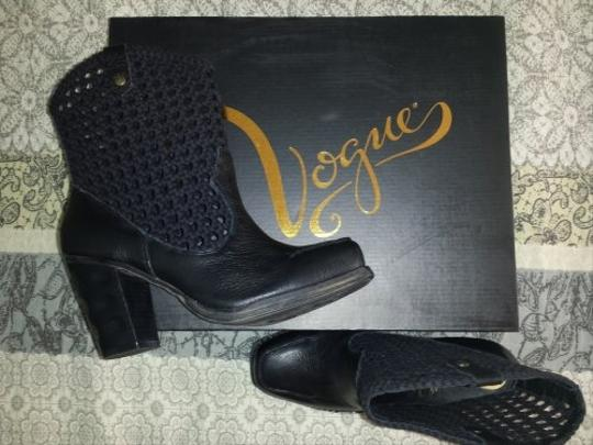 Vogue Eyewear Black Boots