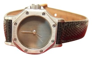Cartier Cartier Santos Octagon Luxury Automatique Women's Lizard Wristwatch with box