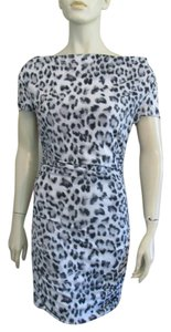 INC International Concepts Animal Print Stretchy Sheath Dress