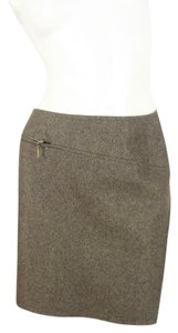 Marella Mini Skirt Brown