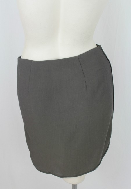 Emporio Armani Mini Skirt Grey