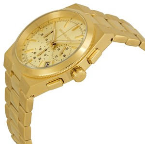 Michael Kors Nwt Michael kors channing gold tone chronograph watch $250