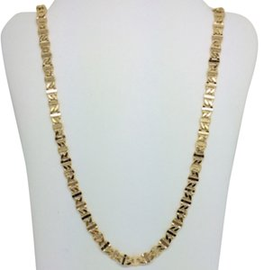 18K Yellow Gold Mariner Chain ~4.70mm 22 Inches