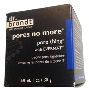 Dr Brandt New Dr Brandt pores no more with evermat t zone pore tightener