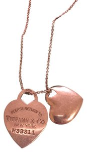Tiffany & Co. Return to Tiffany Dog Tag Pendant Necklace