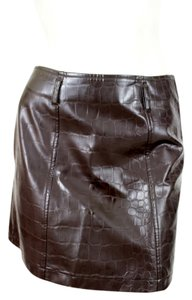 Iceberg Mini Skirt Brown